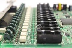 Tarjeta electrónica del ordenador Foto de archivo