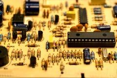 tarjeta electrónica Fotografía de archivo libre de regalías