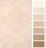 Tarjeta elogiosa de la carta del color imagen de archivo libre de regalías