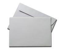 Tarjeta en blanco y sobre Imagen de archivo libre de regalías