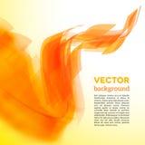 Tarjeta espiral del vector con el borde borroso Foto de archivo libre de regalías