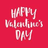 Tarjeta feliz del amor del vector del daycute de las tarjetas del día de San Valentín del vector de la tarjeta linda del amor libre illustration