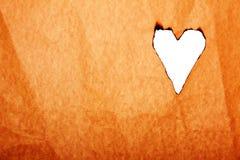 Tarjeta feliz del concepto de la tarjeta del día de San Valentín Imagen de archivo