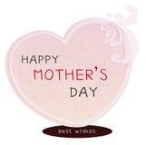 Tarjeta feliz del día de madres Fotos de archivo libres de regalías