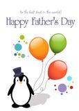 Tarjeta feliz del día de padre libre illustration