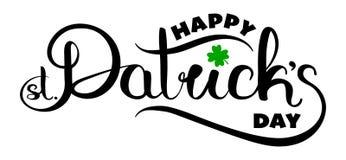 Tarjeta feliz del día del ` s de St Patrick Foto de archivo libre de regalías