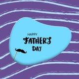 Tarjeta feliz del día del ` s del padre Ilustración del vector stock de ilustración