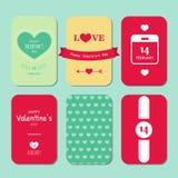 Tarjeta feliz del vintage del día de tarjeta del día de San Valentín libre illustration