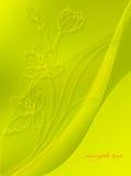 Tarjeta floral 2 ilustración del vector