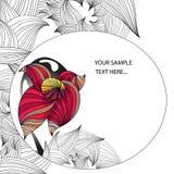 Tarjeta floral libre illustration