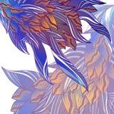 Tarjeta floral fantástica Imagenes de archivo