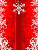 Tarjeta greting de la Navidad Imagen de archivo libre de regalías