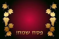 Passover feliz Fotografía de archivo