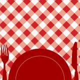 Tarjeta/invitación del menú Imagen de archivo libre de regalías