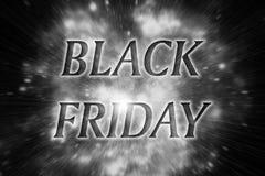 Tarjeta negra de viernes imágenes de archivo libres de regalías