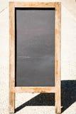 Tarjeta negra vacía Foto de archivo libre de regalías