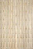 Tarjeta o estera de bambú Imagen de archivo libre de regalías
