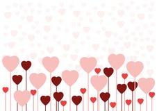 Tarjeta o fondo del amor de la tarjeta del día de San Valentín Fotos de archivo libres de regalías