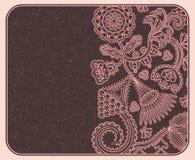 Tarjeta o invitación elegante Foto de archivo libre de regalías