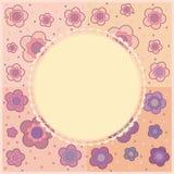 Tarjeta de la flor libre illustration