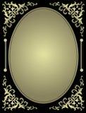 Tarjeta ornamental de la invitación con el espacio en blanco libre illustration