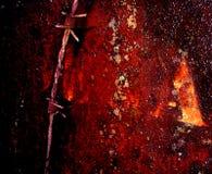 Tarjeta oxidada Fotografía de archivo libre de regalías