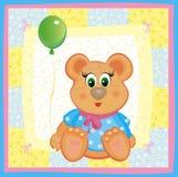 Tarjeta para el bebé Imagen de archivo
