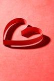 Tarjeta para el día de tarjeta del día de San Valentín Imagen de archivo libre de regalías