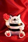 Tarjeta para el día de tarjeta del día de San Valentín del St Fotografía de archivo libre de regalías