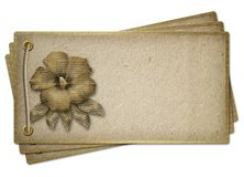 Tarjeta para la invitación, con la cuerda y los remaches Ilustración del Vector