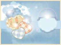 Tarjeta para un bebé Imagen de archivo