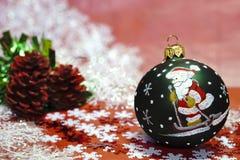 Tarjeta por Cristmas y Año Nuevo fotos de archivo libres de regalías