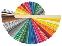 Tarjeta RAL del color stock de ilustración