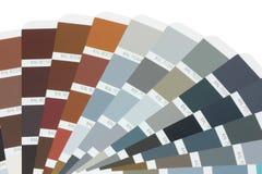 Tarjeta RAL del color Fotografía de archivo libre de regalías