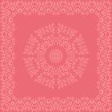 Tarjeta redonda del ornamento Foto de archivo