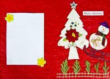 Tarjeta roja Imágenes de archivo libres de regalías