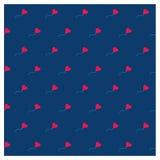 Tarjeta romántica linda para el día del ` s de la tarjeta del día de San Valentín, ejemplo del vector libre illustration