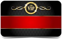 Tarjeta superior del vip Imagen de archivo libre de regalías