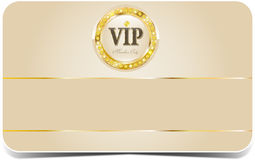 Tarjeta superior del vip Fotografía de archivo