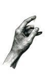 Tarjeta virtual 2 del control de la mano Foto de archivo libre de regalías