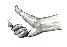 Tarjeta virtual 3 del control de la mano Imagen de archivo
