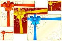 Tarjetas 1 del regalo Foto de archivo libre de regalías