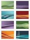 Tarjetas coloridas Fotos de archivo