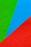 Tarjetas coloridas Foto de archivo libre de regalías