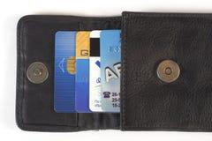 Tarjetas de crédito Fotos de archivo