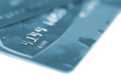 Tarjetas de crédito Imagen de archivo libre de regalías