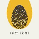 Tarjetas de felicitación del diseño de la cubierta para Pascua feliz libre illustration