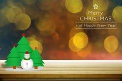 Tarjetas de felicitación por la Navidad y el Año Nuevo Imagen de archivo