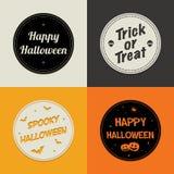 Tarjetas de Halloween Imagen de archivo