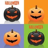Tarjetas de Halloween Imagenes de archivo